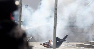 Centro do Rio vira campo de batalha em protesto contra pacote de austeridade
