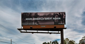 The Story Behind This Controversial 'Make America Great Again' Billboard in Mississippi