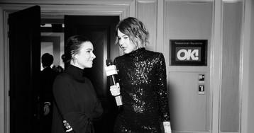 Секрет идеальной попы Глюкозы и что делали Темникова, Харламов и Самбурская на премии журнала ОК! Видео!