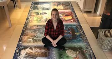 Датская студентка за 460 часов собрала самый большой в мире пазл