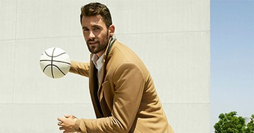 Сирота сняла звезду НБА в рекламе Banana Republic