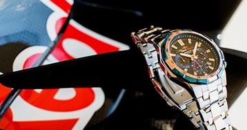 Бренд Edifice выпустил часы для фанатов «Формулы-1»