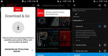 Saiba como assistir Netflix offline no seu smartphone