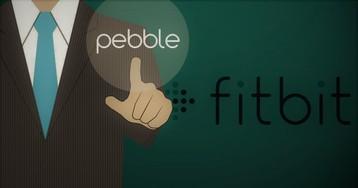 Fitbit поглотит Pebble за 40 миллионов долларов