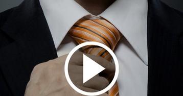 Como dar nó de gravata