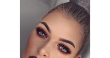Новый тренд — красный макияж глаз. Советы стилистов