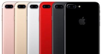 """Site aposta que, em 2017, a """"grande novidade"""" dos """"iPhones 7s/7s Plus"""" será a adição da cor vermelha"""