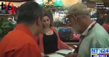"""Funcionário venezuelano aos comerciantes de Caracas: """"Baixem os preços!"""""""
