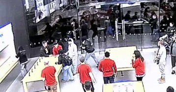 Vídeo: ladrões invadem loja da Apple duas vezes numa mesma semana para roubar iPhones