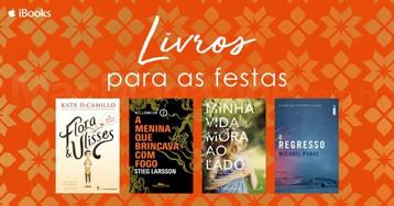 Livros para as festas: títulos por até US$4 na iBooks Store, por tempo limitado!