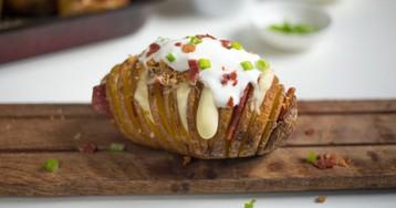 Оригинальный гарнир: картофель хассельбек
