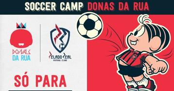 Turma da Mônica incentiva meninas no esporte com o 'Soccer Camp'