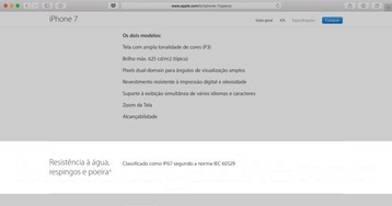 O que a lei brasileira diz sobre a Apple não oferecer garantia para iPhones 7/7 Plus danificados pela água?