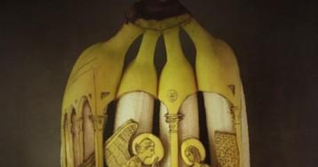 Голландский художник творит что-то невероятное с бананами
