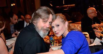 "Acaba logo 2016: Carrie Fisher, a princesa Leia de Star Wars, se uniu à ""força"""
