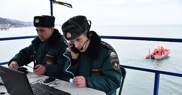 Источник: с места крушения Ту-154 подняты закрылки самолета