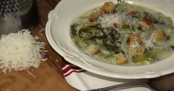 Провансальский зеленый суп