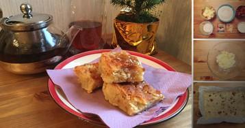 Изумительно вкусный кекс с мармеладом: пошаговый фото рецепт