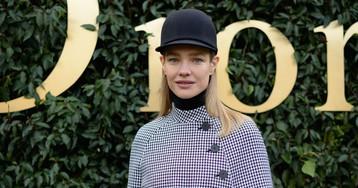 Наталья Водянова, Ксения Собчак, Яна Рудковская, Елена Перминова и ASAP Rocky на показе Dior в Париже