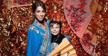 Юлия Барановская и другие звезды отпраздновали китайский Новый год