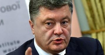 Порошенко проведет референдум о вступлении Украины в НАТО