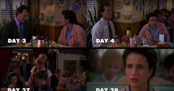 Watch every day in Bill Murray's 'Groundhog Day' at the same time