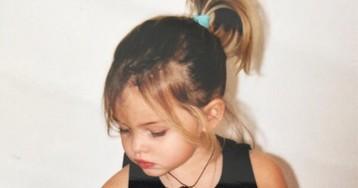 Что стало с«самой красивой девочкой вмире» пять лет спустя