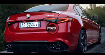 Alfa Romeo Airs Three Giulia Quadrifoglio Commercials During Super Bowl