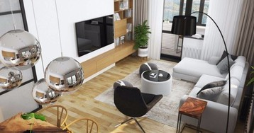 Проект недели: светлая квартира в скандинавском стиле