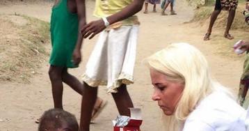 Год назад этот ребёнок изНигерии умирал отголода. Нопосмотрите нанего сейчас!