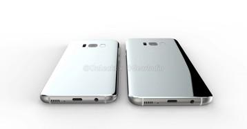 Оба два: Свежие рендеры Galaxy S8 и S8 Plus