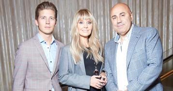 Валерия, Наталья и Мурад Османн на презентации новой кофемашины Creatista Plus в Большом театре