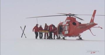 Травма Лары Гут, после которой ей на помощь прилетел вертолет
