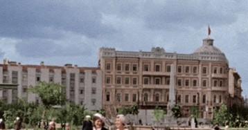 Фотографии старого Сталинграда, сгоревшего вогне сражений