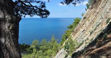Черноморское побережье Кавказа в июле 2015 г.