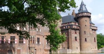 Прогулки по замку де Хаар. Вкусно поесть в Голландии
