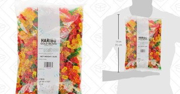 This Is Not a Drill: Amazon's 5-Pound Bag of Haribo Gold Bears Is Back On Sale