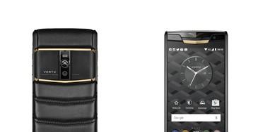 Новая коллекция телефонов от Vertu: стеганая кожа, красное золото и титановое покрытие