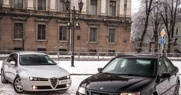 Страсть и уверенность: сравнительный тест-драйв Saab 9-3 и Alfa Romeo 159