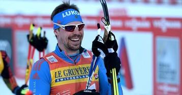 Устюгов и Крюков взяли золото в мужском командном спринте из-за падения норвежца и финна на финише