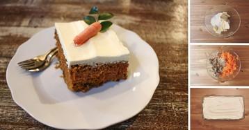 Домашние морковные пирожные с творожным кремом: пошаговый фото рецепт