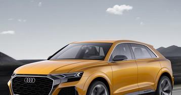 AUDI Q8 sport concept previews luxury SUV with 1190+ km range