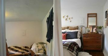 До и после: 13 примеров невероятных и очень бюджетных трансформаций жилых помещений