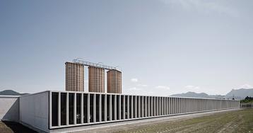 marte marte architects completes concrete motorway maintenance center near salzburg