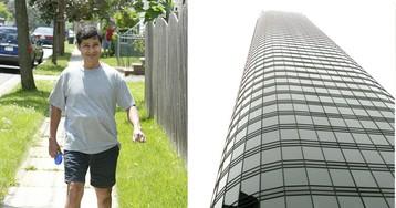 Мужчина, выживший после падения с 47-го этажа, все равно не боится высоты