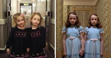 Pai assusta pessoas em hotel em Londres usando suas filhas gêmeas idênticas