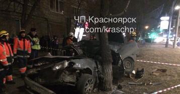 В аварии на ул. Высотной насмерть разбился водитель ВАЗа
