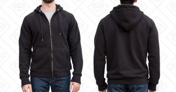 Your Favorite Hoodie Is the Flint & Tinder 10-Year - Barely