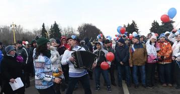 Праздник в честь трехлетия присоединения Крыма к России
