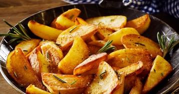 Правила вкусной жареной картошечки